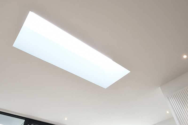 Framless skylight